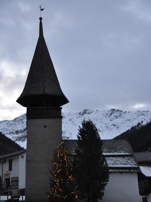 Alte Kirche Weihnachtsferien