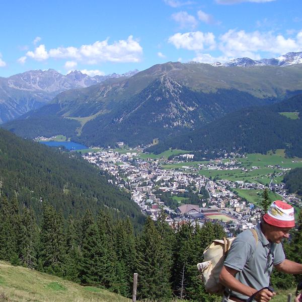 Wanderung Schatzalp Ferienhaus Davos Monstein